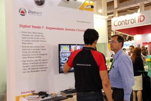 Digifort was showcased on several stands at 2016 ISC Brazil