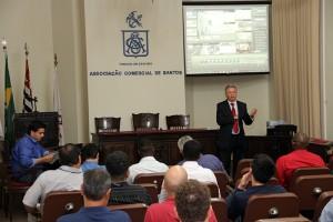 Bonilha apresentou as novidades ao público presente