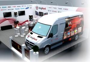 O Digifort Wi-Fi Lounge estará localizado no Estande C51