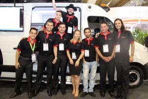 A equipe Digifort colaborou para o sucesso comercial da feira